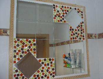 mosaikspiegel. Black Bedroom Furniture Sets. Home Design Ideas